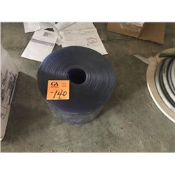 ROLL OF CLEAR PVC CURTAIN 6'X8'