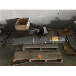 PALLET WITH TELESCOPING HYDRAULIC CYLINDER, JLG WHEEL DRIVE MOTOR ASSEMBLY 24V PART #992334