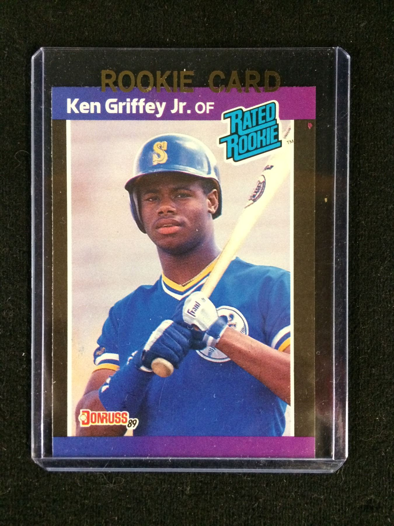 1989 Donruss Rated Rookie 33 Ken Griffey Jr Rookie Card