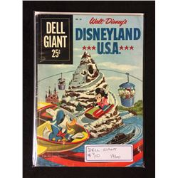 1960 WALT DISNEY'S DISNEYLAND U.S.A (DELL COMICS)