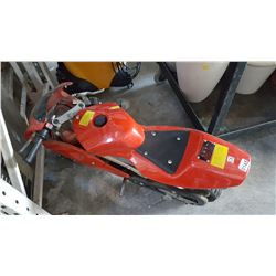 RED GAS POCKET BIKE
