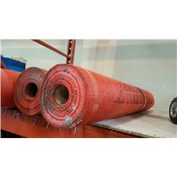 2 ROLLS OF FIBERGLASS MESH 50FT EACH