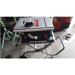 BOSCH TABLE SAW ON STAND