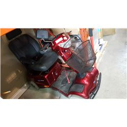 INNVACARE 4 WHEEL MOBILITY SCOOTER W/ CHARGER AND KEY