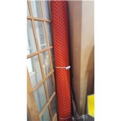 6 FOOT TALL ROLL OF PLASTIC MESH FENCING