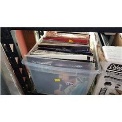 TOTE OF RECORDS
