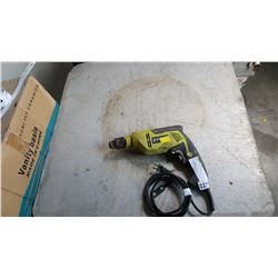 RYOBI ELECTRIC DRILL TESTED AND WORKING