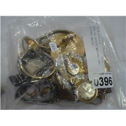 BAG OF ESTATE WATCHES AND POCKET WATCH
