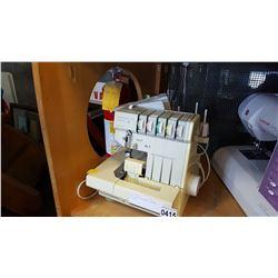 HOBBY LOCK ELECTRONIC SERGER BY PFAFF