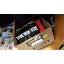 BOX OF SMOKE NV CARTRIDGES AND STARTER PACKS