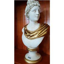 CERAMIC ROMAN STATUE AS IS
