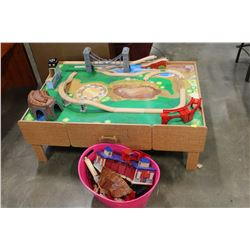 BRIO TRAIN PLAY TABLE