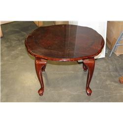 MOHAGANY PARLOUR END TABLE