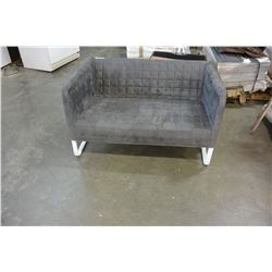 METAL AND MICROFIBER BENCH