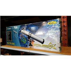 ASTRAL OBSERVER 675 TELESCOPE IN BOX