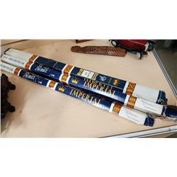 3 IMPERIAL BILLIARD CUES