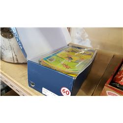 BOX OF RICHIE RICH COMICS