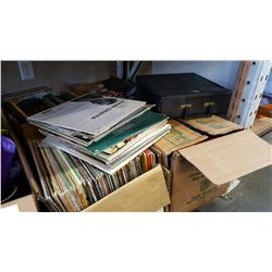 4 BOXES OF RECORDS