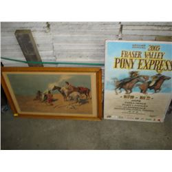 WESTERN PRINT AND POSTER