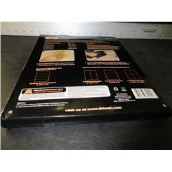 Case of New Sandpaper / 40 sheets / 60-100-150-240 grits 10 of each