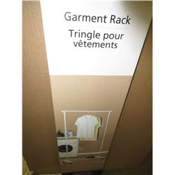 "Mainstays Garment Rack / 35 x 17.5 x 68 "" high / great for your laundry room"
