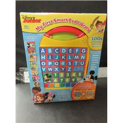 New Disney Junior Electronic Activity Pad & 8 Book Library / 100's of learning