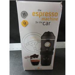 Wow! New 12 volt Espresso Machine for the car / Great for Camping/ $250.00