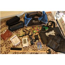 Lot of Misc Bags, Electronics