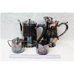 Benedict Proctor Canada Silver Plated Tea Set