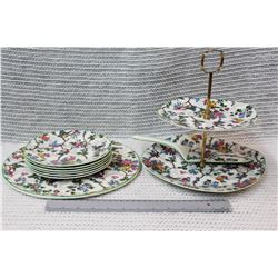 Royal Tudorware China Serving Set