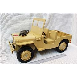 Vintage GI Joe Land Adventurer Toy Car