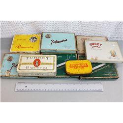 (10) Vintage Tobacco Tins