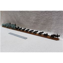 Vintage Horse Wagon Model