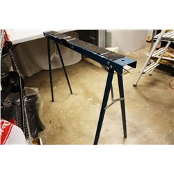 (2) Portable Metal Sawhorse