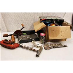Lot of Misc (Socket Set, Cords, Misc Tools)