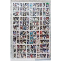 Poster of Uncut Hockey Cards (28.5 x 43 )