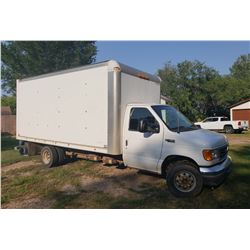 2005 E450 Ford Van, 6 Liter Diesel Motor, 240,560KM, 16' Box, Full Of Eavesdropping Accessories