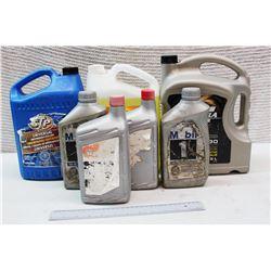 Box of Misc Automobile Fluid