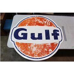 Plastic Gulf Sign, SS, 39