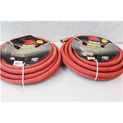 (2) Water Works Hot Water Hose (50 ft)