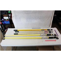 Lot of Extension Poles and Braces