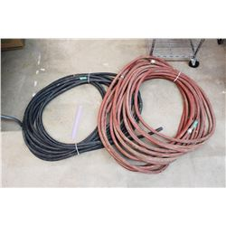 Electrical Cord and Water Hose