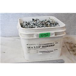 "Cladding Screws (14""x1&1/4"")"