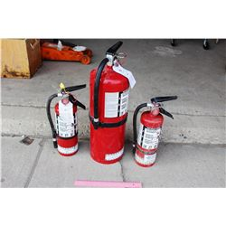 (3) Fire Extinguishers