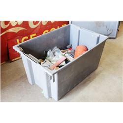 Tub w/Contents (Building Materials)