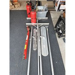 Concrete Forming And Finishing Tools