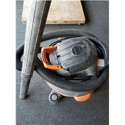Rigid 14 Gallon 6HP Shop Vac W/ Hose And Wand Accessories