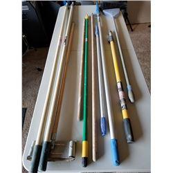 Lot Of Painters Poles