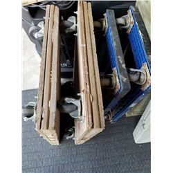 Lot Of Wheeled Dollies (4) (2 Plastic 2 Wood)