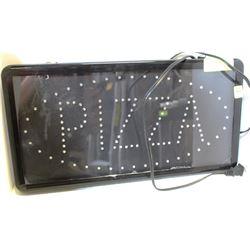 "LED PIZZA SIGN 19"" X 10"""